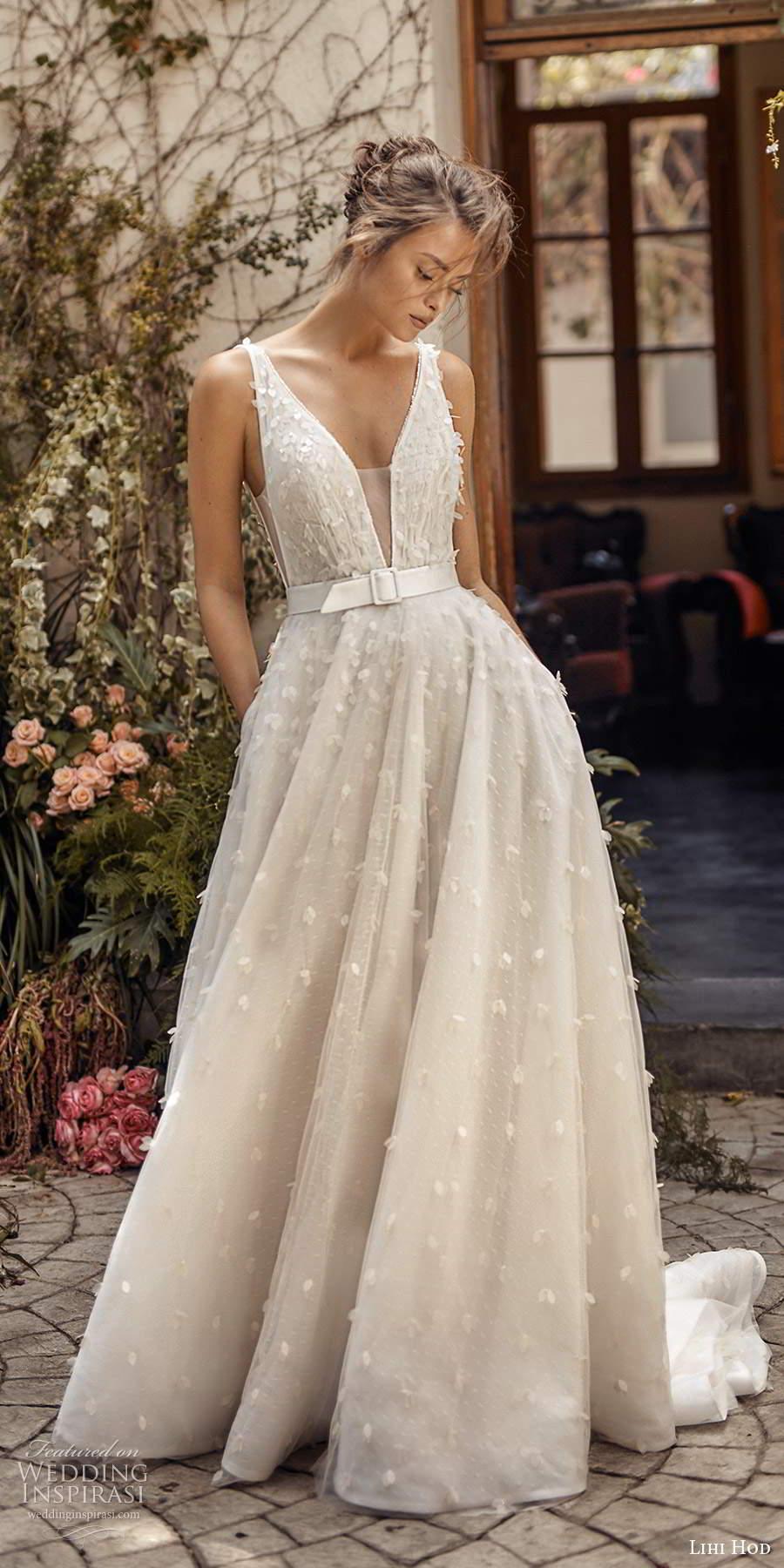 """Lihi Hod Fall 2020 Wedding Dresses — """"White Blossom ..."""