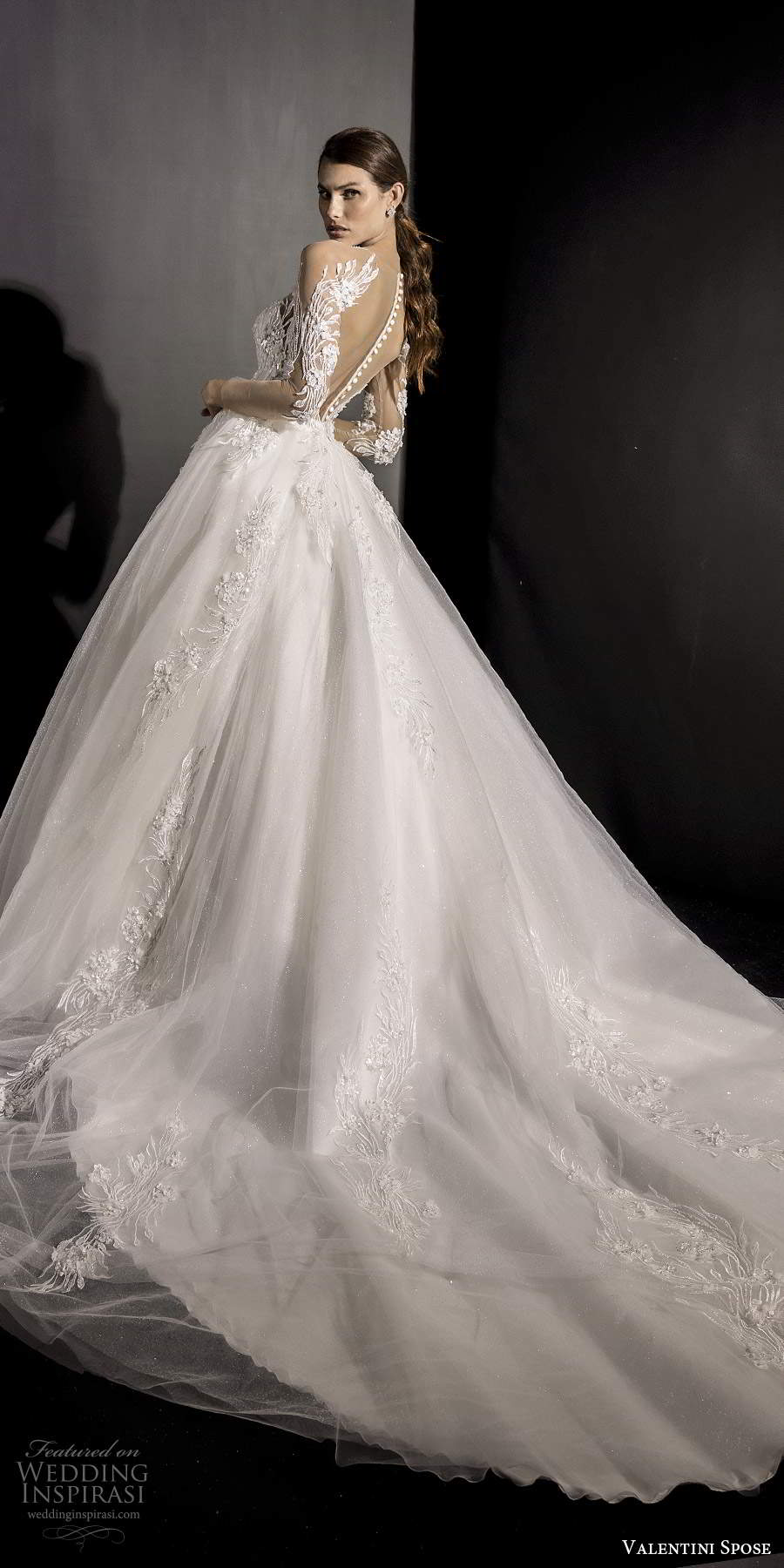 valentini spose fall 2020 wedding dresses wedding inspirasi. Black Bedroom Furniture Sets. Home Design Ideas