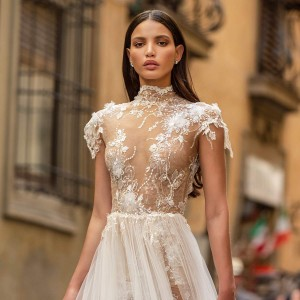 berta fall 2020 muse bridal collection featured on wedding inspirasi thumbnail