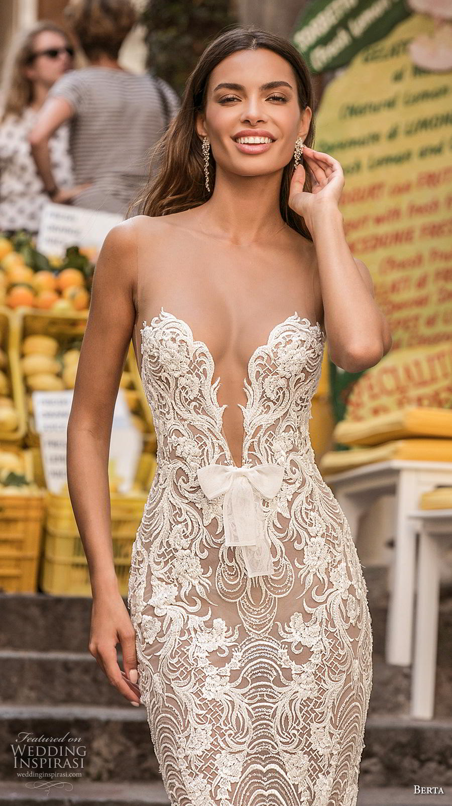 Berta Priv 233 E 2020 Wedding Dresses Amalfi Bridal
