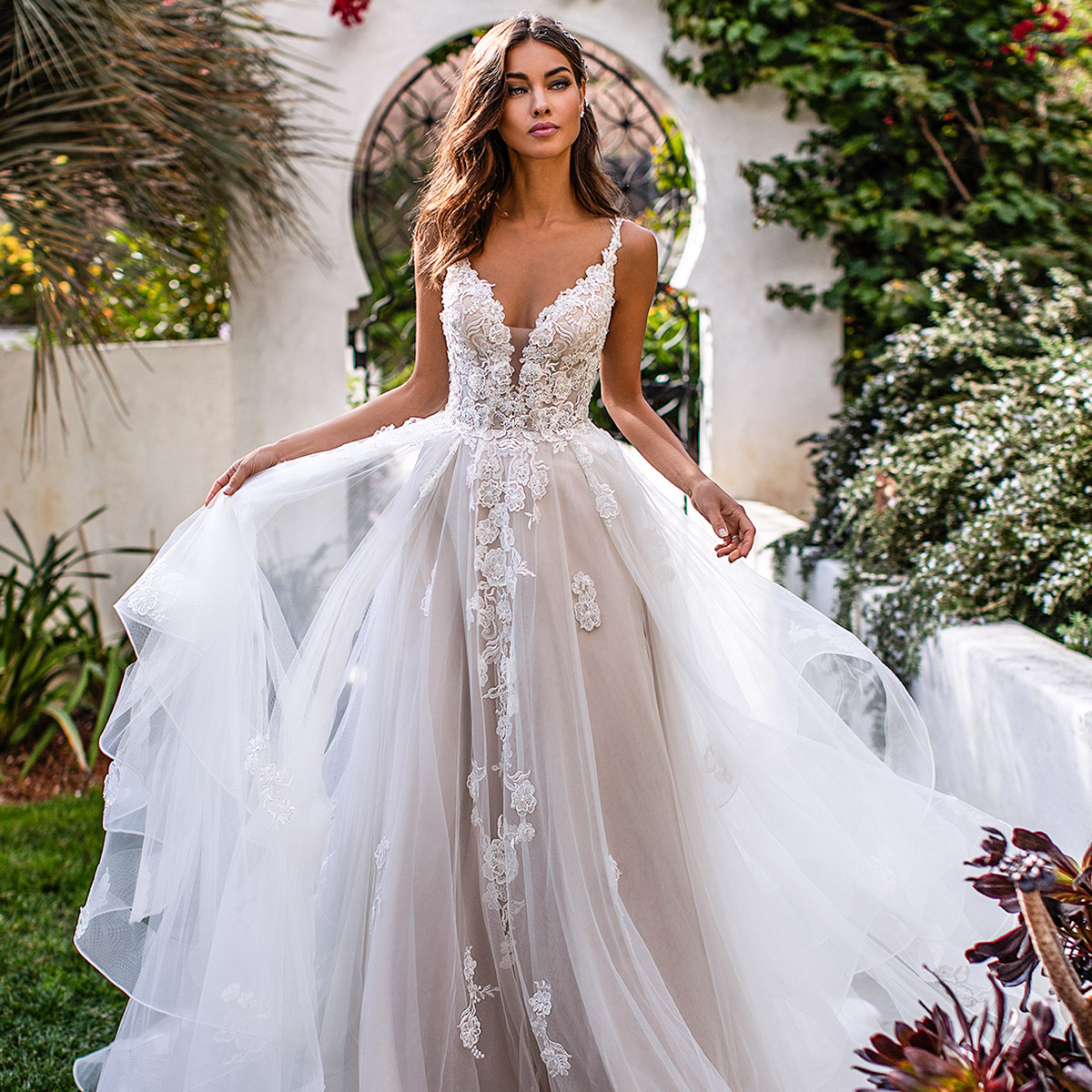 Most Popular Wedding Dresses On Our Pinterest This Year
