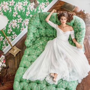 bhldn spring 2020 bridal wedding inspirasi featured wedding dresses and gowns