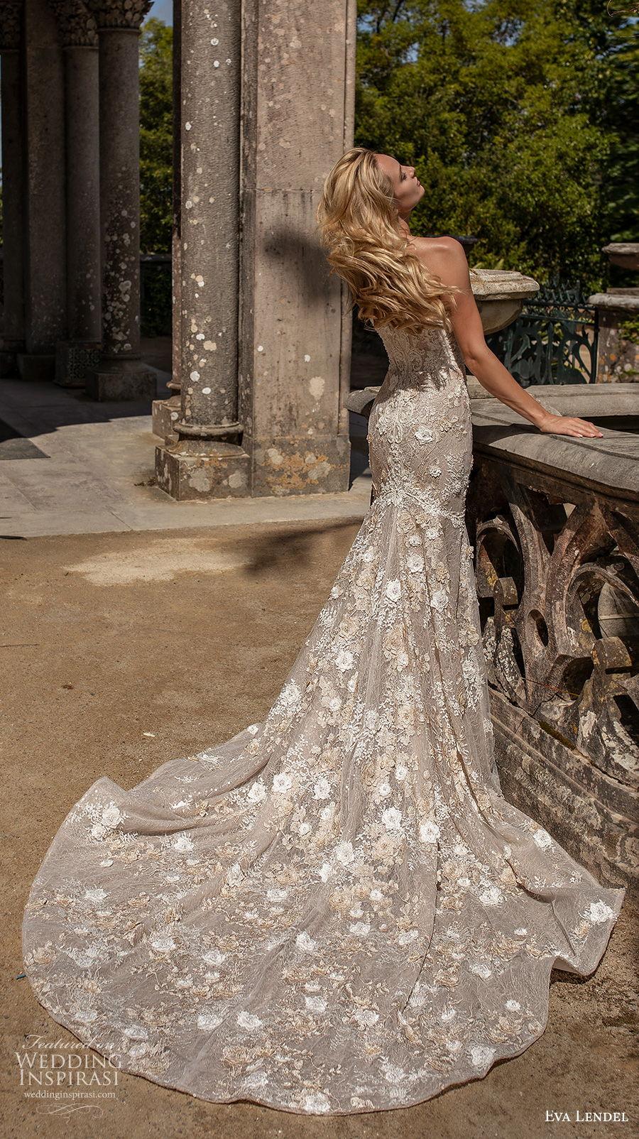 eva lendel 2020 lisbon vibes bridal strapless sweetheart neckline full embellishment elegant fit and flare wedding dress mid back chapel train (9) bv