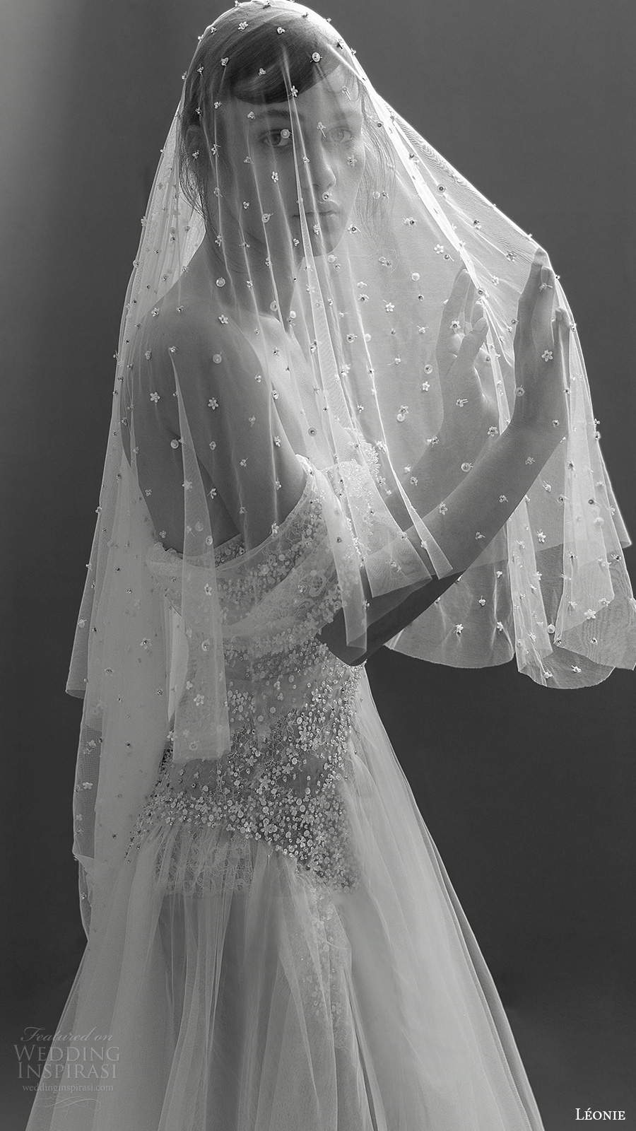 leonie bridal 2020 bridal off shoulder straps semi sweetheart neckline fully embellished a line ball gown wedding dress (12) zsv