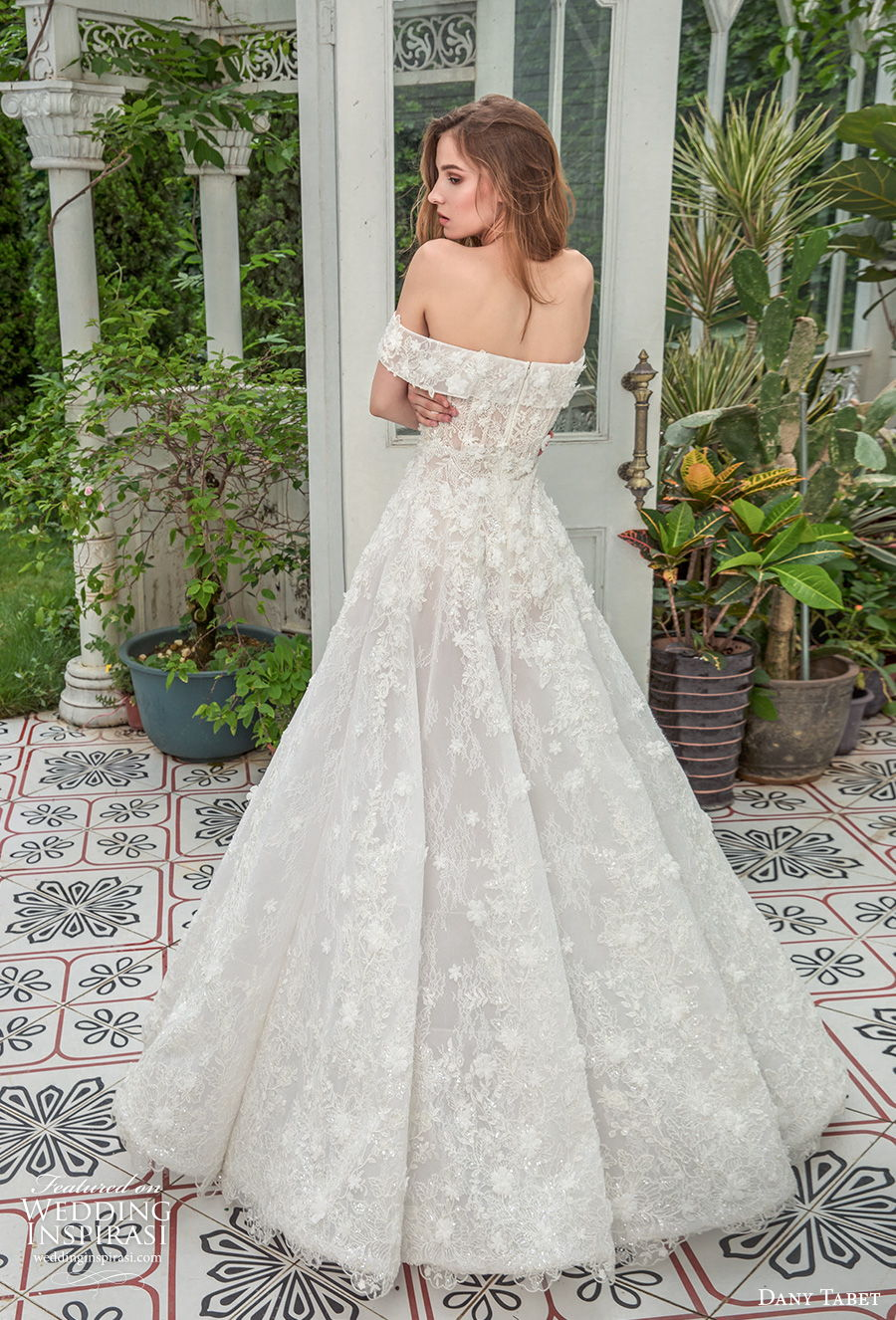 dany tabet 2021 emerge bridal off the shoulder sweetheart neckline full embellishment romantic a  line wedding dress mid back sweep train (12) bv
