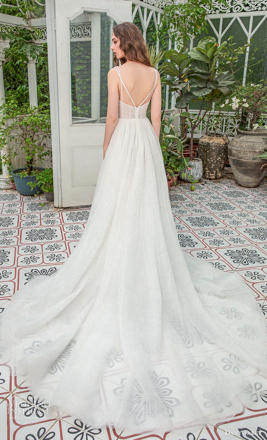 dany tabet 2021 emerge bridal sleeveless deep v neck full embellishment glitter glamorous romantic a  line wedding dress backless v back chapel train (7) bv