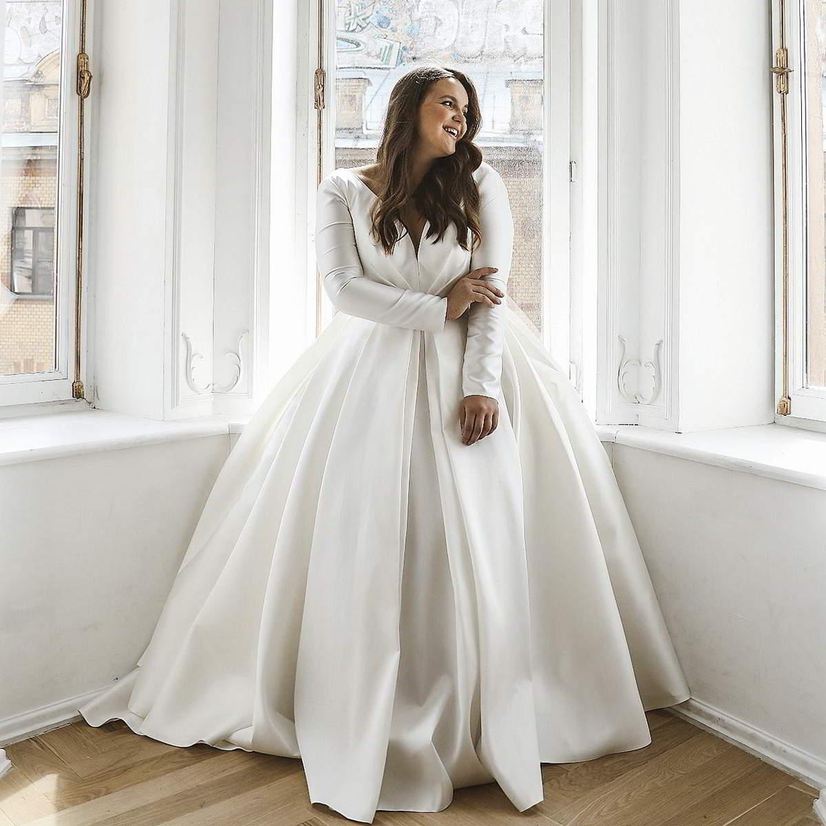 Olivia Bottega 2021 Plus Size Wedding Dresses Wedding Inspirasi
