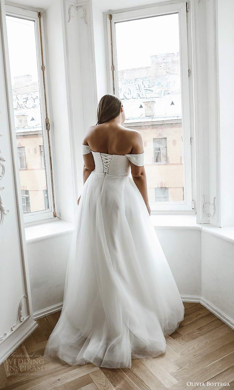 olivia bottega 2021 bridal plus off shoulder straps straight across neckline a line ball gown wedding dress (7) bv