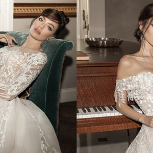 luce sposa 2021 sorrento bridal collection featured on wedding inspirasi home page splash