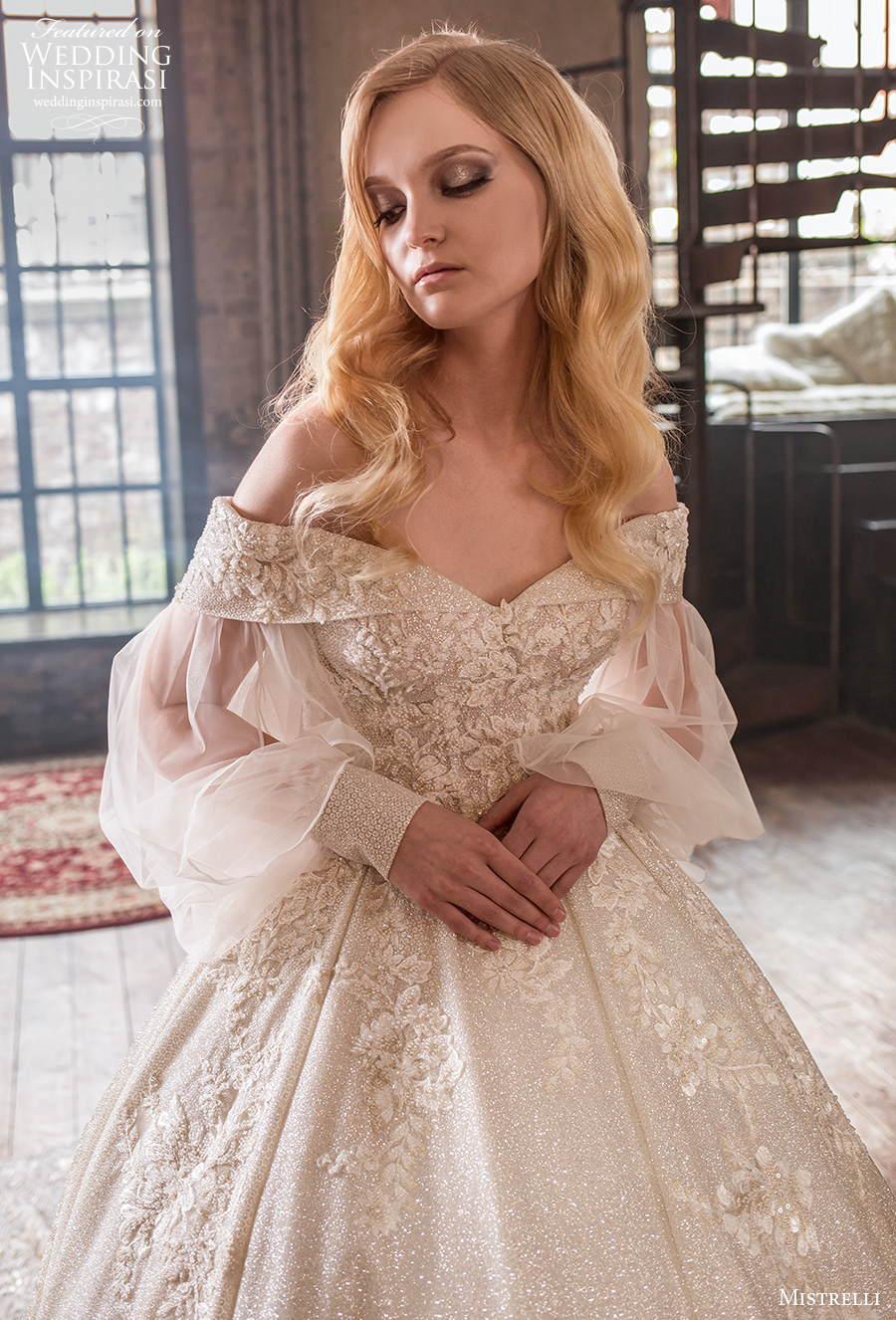 mistrelli 2021 royal drama bridal off the shoulder v neck full embellishment princess ball gown a  line wedding dress v back chapel train (13) zv