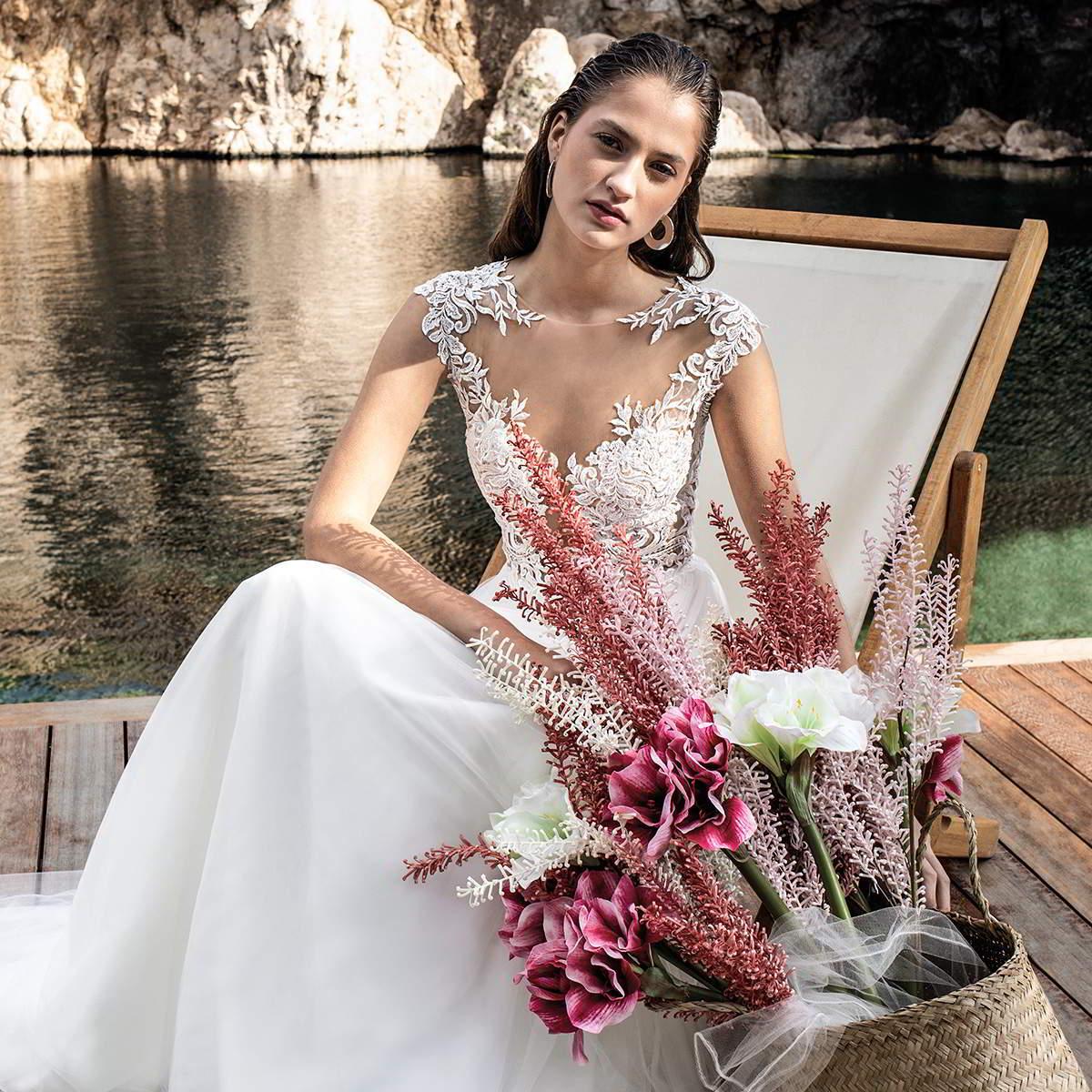 destination romance 2020 bridal collection featured on wedding inspirasi thumbnail