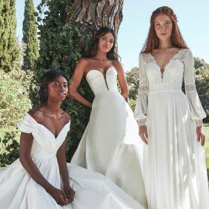 pronovias 2021 eco bridal eco collection featured on wedding inspirasi thumbnail