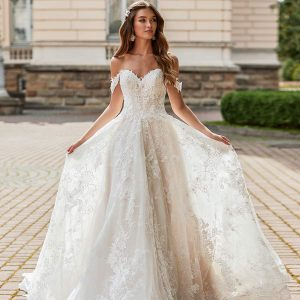 val stefani spring 2021 bridal collection featured on wedding inspirasi thumbnail