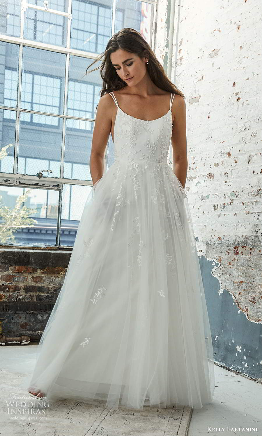 kelly faetanini 2021 bridal sleeveless double straps scoop neckline embellished bodice a line ball gown wedding dress chapel train (20) mv