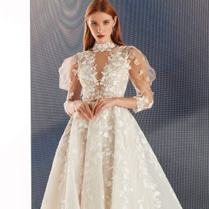 beaute comme toi fall 2021 bridal collection featured on wedding inspirasi thumbnail