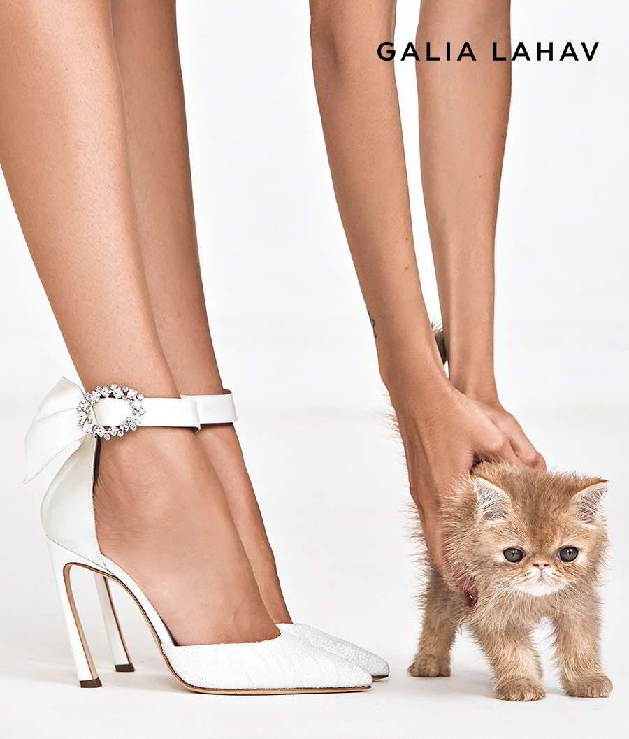 galia lahav shoes fall 2021 bridal beaded high heel pointed toe d orsay pump ankle straps wedding shoes (ariel) zv