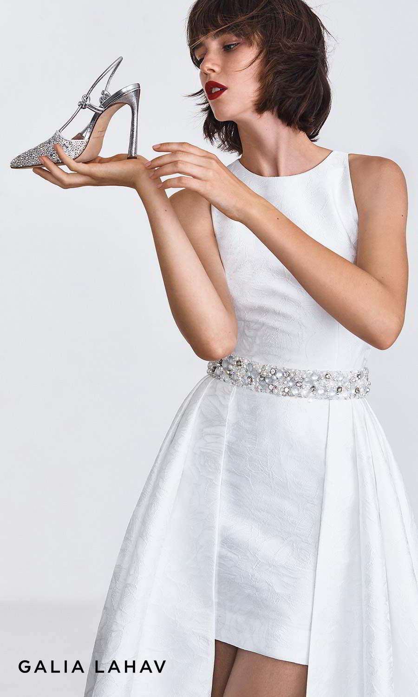 galia lahav shoes fall 2021 bridal rhinestone beaded slingback pointy toe high heel pump shoes (astrid silver) bv