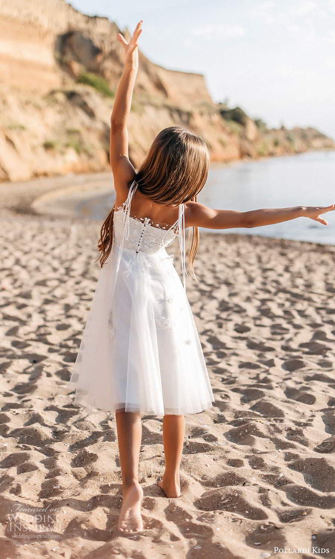 pollardi kids 2021 childrens sleeveless straps straight across neckline embellished bodice short a line flower girl dress (16) bv