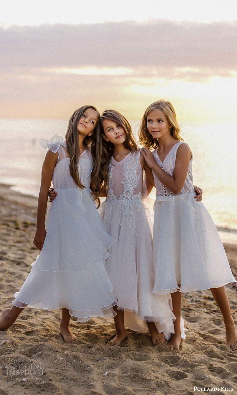 pollardi kids 2021 childrens sleeveless v neckline fully embellished short tea length flower girl dresses (22) mv