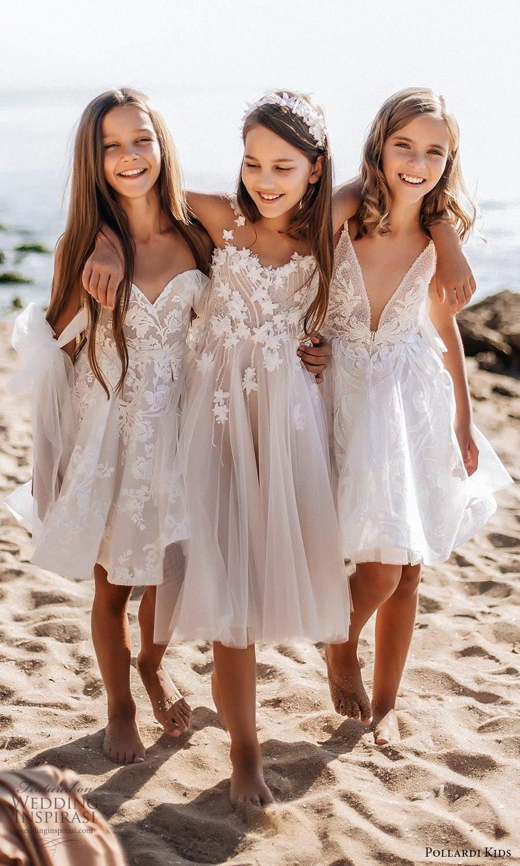 pollardi kids 2021 childrens strapless sweetheart short a line blush flower girl dresses (1) mv