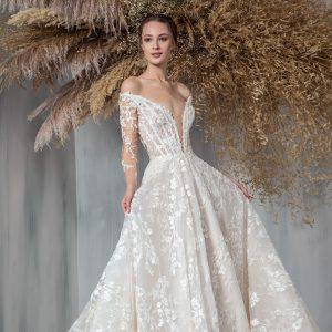 tony ward 2021 bridal collection featured on wedding inspirasi thumbnail