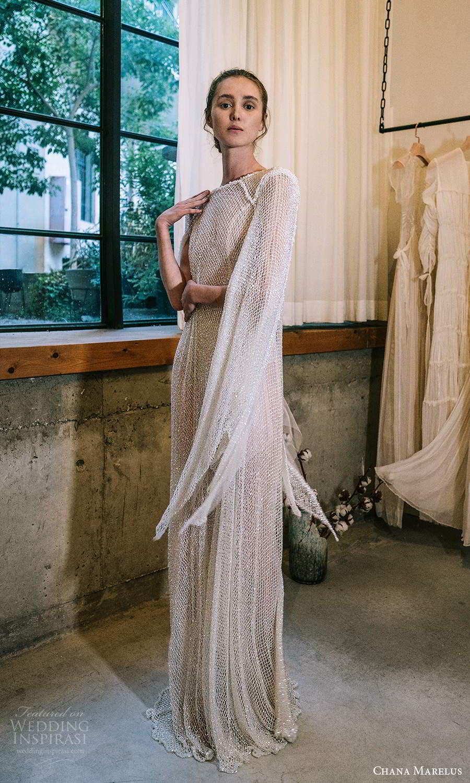 chana marelus 2021 bridal cape sleeves bateau neckline fully embellished kaftan wedding dress sweep train (13) sv