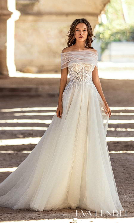 eva lendel 2021 golden hour bridal strapless sweetheart neckline embellished bodice a line ball gown wedding dress chapel train ruched shrug cape (kollet) mv