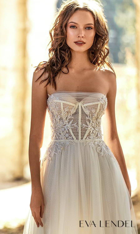 eva lendel 2021 golden hour bridal strapless sweetheart neckline embellished bodice a line ball gown wedding dress chapel train ruched shrug cape (kollet) zv