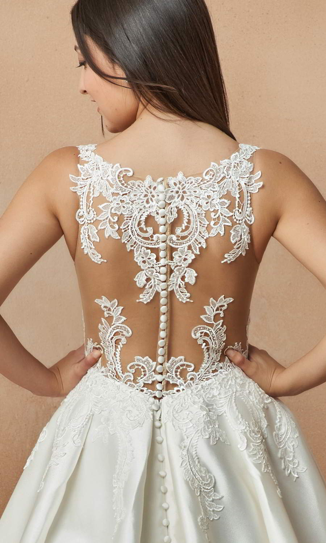 afarose 2021 bridal sleeveless straps v neckline embellished bodice a line ball gown wedding dress chapel train sheer bodice (piegon) zbv