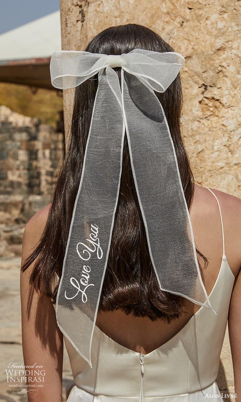 alon livne 2021 bridal wedding hair accessory bow (16) mv