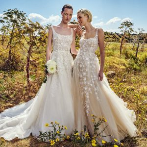 costarellos spring 2022 bridal collection featured on wedding inspirasi thumbnail