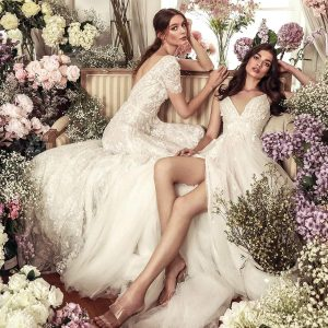 dany tabet 2021 belle fleur bridal collection featured on wedding inspirasi