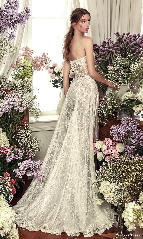 dany tabet 2021 belle fleur bridal strapless sweetheart neckline fully embellished a line wedding dress chapel train (7) bv