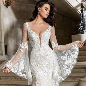 morilee madeline gardner spring 2022 bridal collection featured on wedding inspirasi