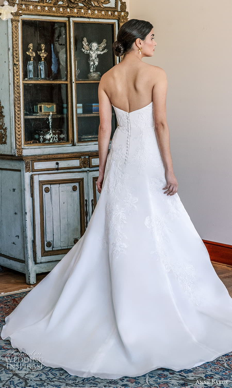 anne barge spring 2022 bridal strapless sweetheart neckline embellished a line wedding dress chapel train (7) bv