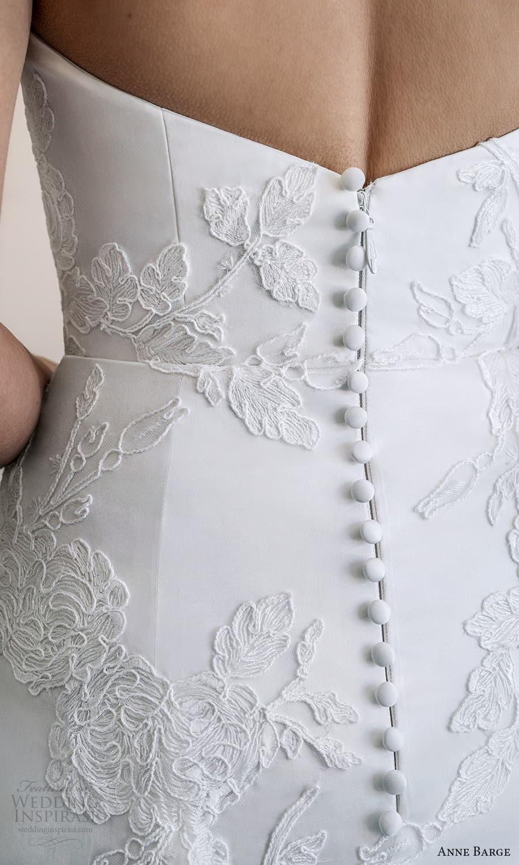 anne barge spring 2022 bridal strapless sweetheart neckline embellished a line wedding dress chapel train (7) zbv