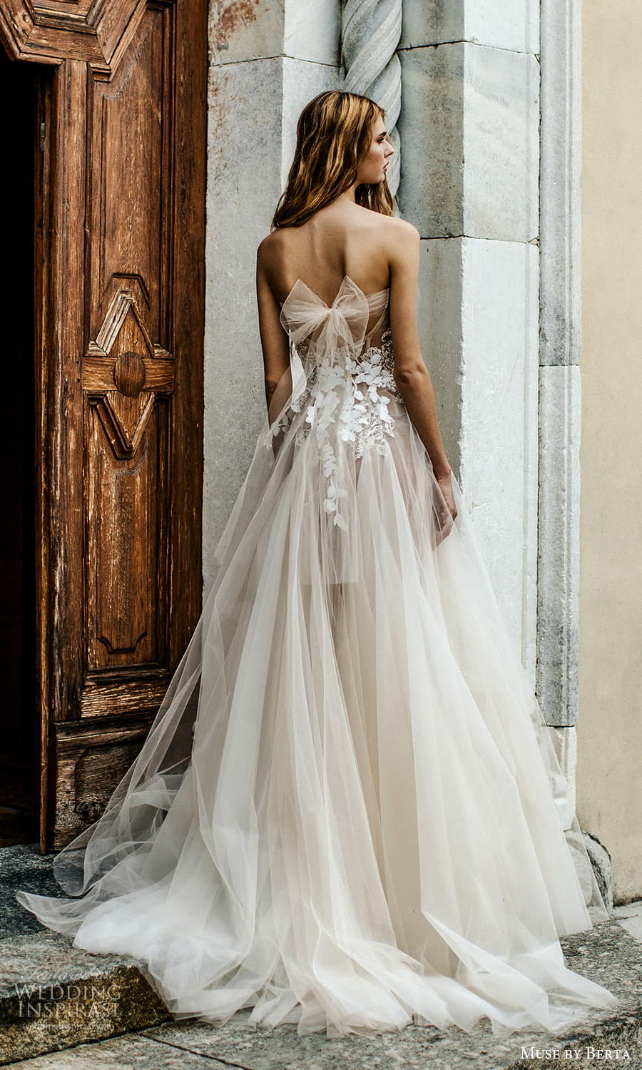 muse by berta spring 2022 bridal strapless sweetheart neckline embellished bodice a line ball gown wedding dress chapel train (13) bv