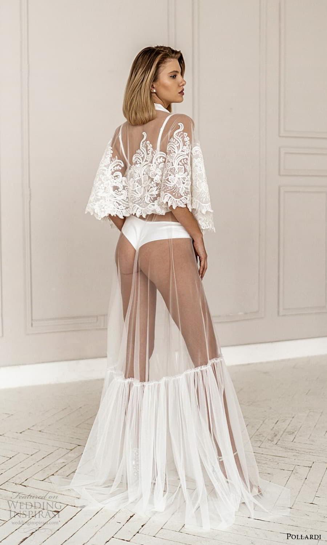 pollardi 2021 boudoir bridal lace cape sleeves bridal coat robe (2) bv