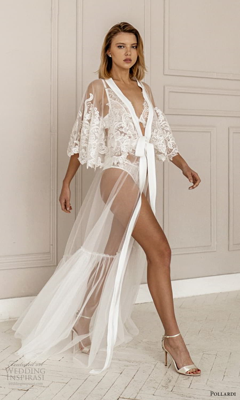 pollardi 2021 boudoir bridal lace cape sleeves bridal coat robe (2) sv