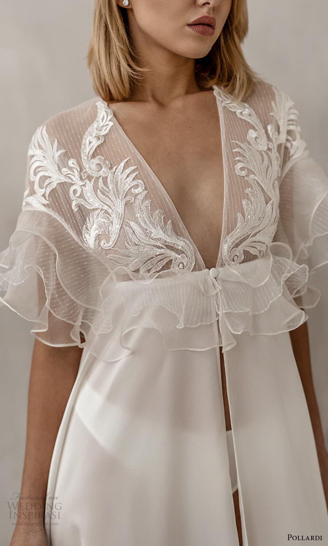 pollardi 2021 boudoir bridal sheer fluter sleeves robe (13) zv