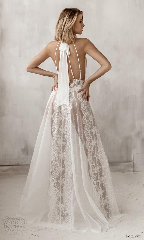 pollardi 2021 boudoir bridal sleeveless halter neckline bridal over dress (6) bv