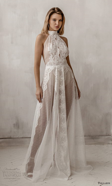pollardi 2021 boudoir bridal sleeveless halter neckline bridal over dress (6) mv