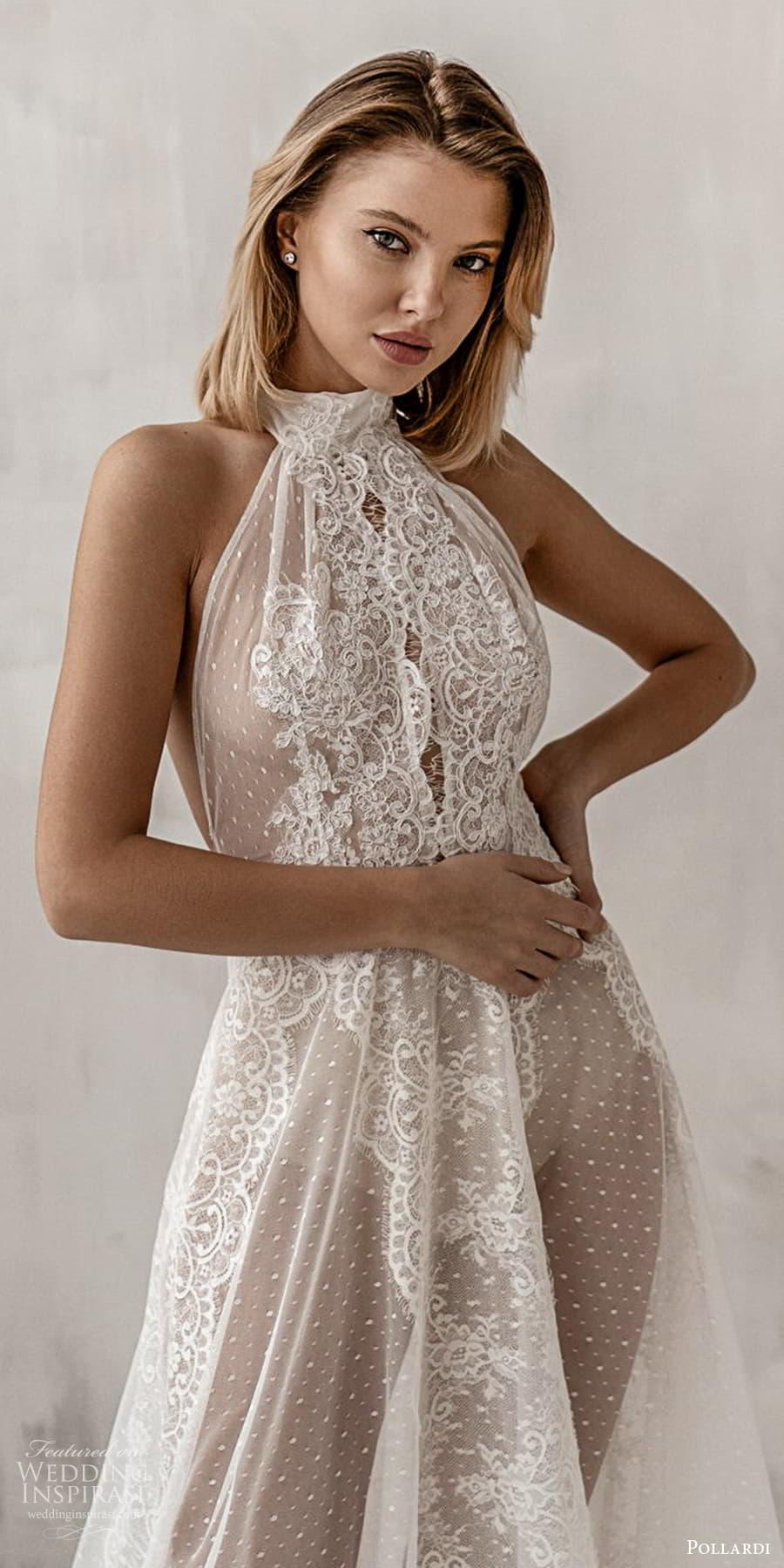 pollardi 2021 boudoir bridal sleeveless halter neckline bridal over dress (6) zv