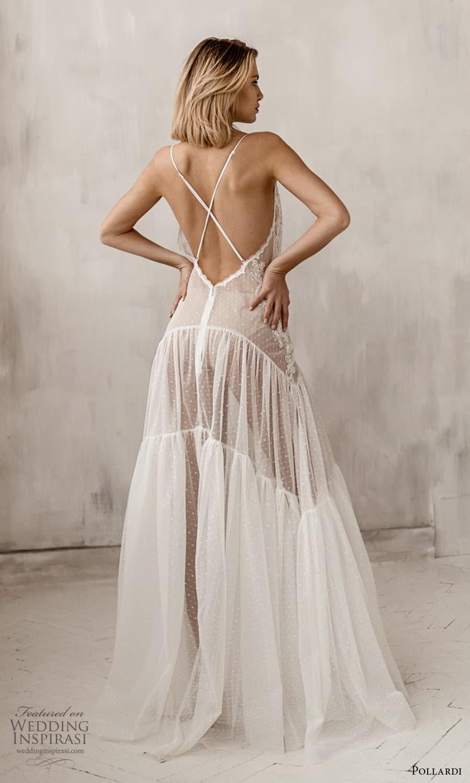 pollardi 2021 boudoir bridal sleeveless straps lace dress low back (1) bv