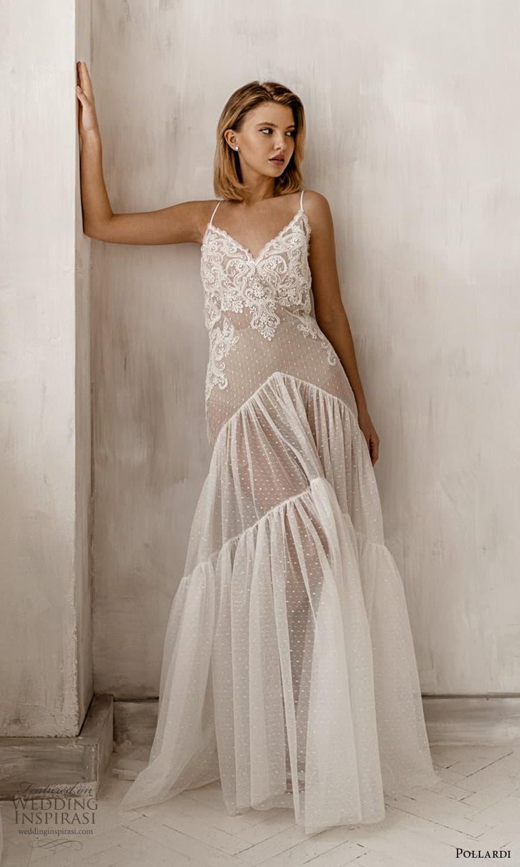 pollardi 2021 boudoir bridal sleeveless straps lace dress low back (1) mv