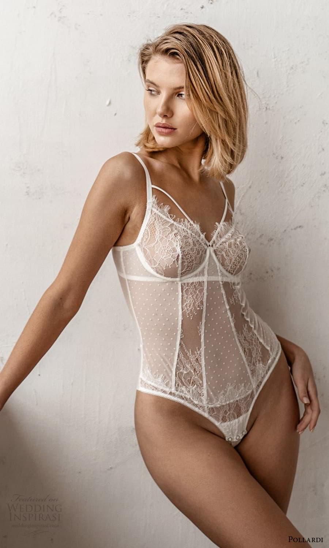 pollardi 2021 boudoir bridal sleeveless straps sweetheart lace bodysuit (20) mv