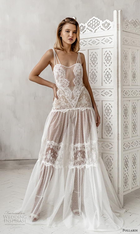 pollardi 2021 boudoir bridal sleeveless straps sweetheart neckline lace over dress (15) mv
