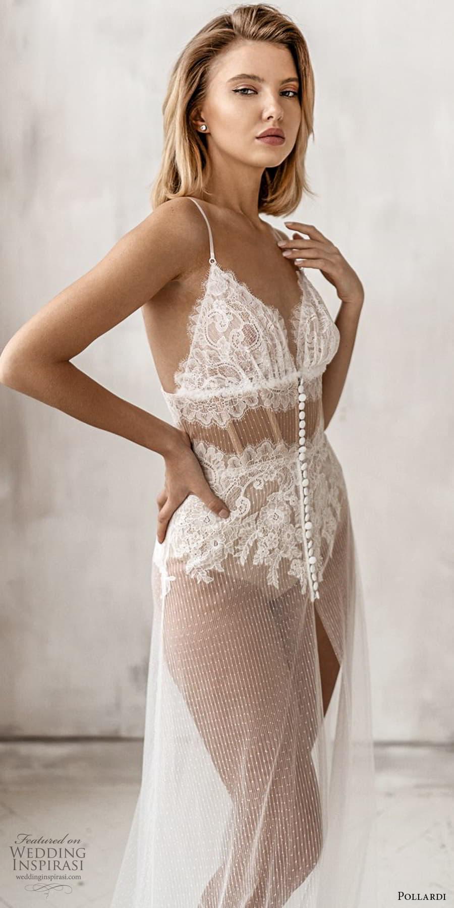 pollardi 2021 boudoir bridal sleeveless straps sweetheart neckline sheer over dress lingeri (12) mv