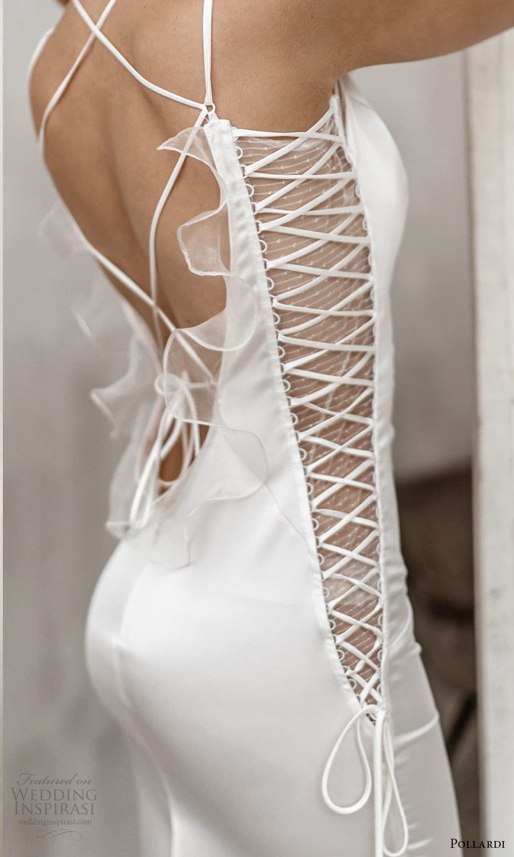 pollardi 2021 boudoir bridal sleeveless straps v neckline sheath lingerie dress (14) zv