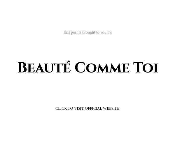 beaute comme toi s2022 bridal official website banner below